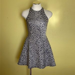 Abercrombie and Fitch scuba fit and flare dress